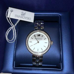 Swarovski daytime silver watch